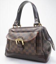 $1,790 Auth LOUIS VUITTON Knightsbridge Boston Handbag Damier Satchel Purse
