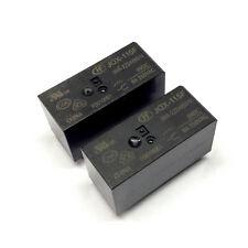 2 Stück JQX-115F-009-2ZS4A Miniatur Hochleistungsrelais 8A/250VAC/9VDC (M3821)