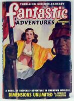 Fantastic Adventures 1948 Vol.10 No.11 Science Fiction, Fantasy Pulp Magazine