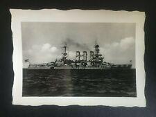 WW2 GERMAN. KRIEGSMARINE. PHOTO LINE SHIP HESSEN  -:-  VERY NICE ORIGINAL