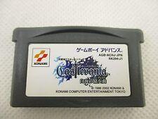Game Boy Advance CASTLEVANIA HARMONY OF DISSONANCE Nintendo Cartridge Only gbac