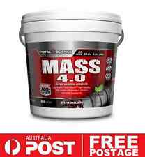 Total Science MASS 4.0 4kg Chocolate | Weight Muscle Gain High Calorie Shake