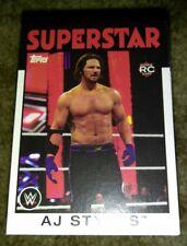 WWE 2016 Topps Heritage 110 Card Base Set Superstars Legends NXT Bellas Cena