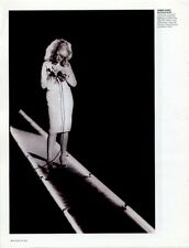 Blondie Debby Harry Isleworth London Video shoot early 80's Magazine Photo