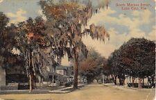 1911? Homes South Marion St. Lake City Fl post card