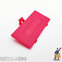GameBoy Pocket GBP Akku Batterie Deckel Klappe Battery Cover Game Boy Rose Rot