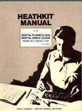 Heathkit GC-1195 GC-1197 Digital Clock Assembly & Operation Digital Manual