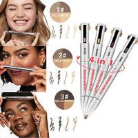 Brow Contour 4-In-1 Defining Highlighting Pencil Eyeliner Eyebrow Enhance HOT