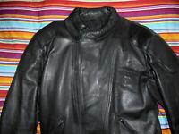 vintage HEROS HELD Motorradjacke Lederjacke 80s biker oldschool jacket 54 M/L