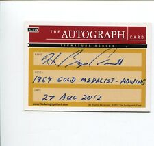 Boyce Budd 1964 US Olympic Gold Medal Rowing Signed The Autograph Card