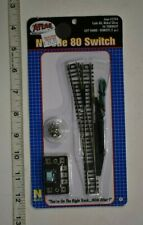 N Scale Atlas 150-2704 - Code 80 Nickel Silver #6 Turnout, Left hand - REMOTE