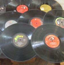 "10 VINYL LOT 12"" RECORDS CRAFTS LPS PARTY DECORATIONS"