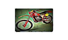 1979 rc250 Bike Motorcycle A4 Retro Metal Sign Aluminium