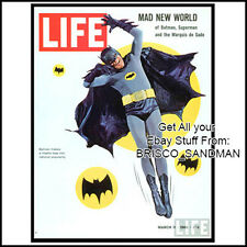 Fridge Fun Refrigerator Magnet BATMAN 1960s LIFE Magazine Cover