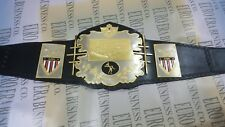 New AWA Wrestling Champion Belt, Adult Size & Belt Plates