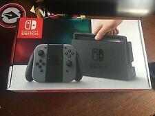 Nintendo Switch Console Grey / Gray Joy-Con - Brand NEW In Hand Unopened