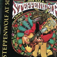 JOHN KAY SIGNED AND STEPPENWOLF AT 50 BOX SET 3X CD 1967 - 2017 2018 AUTOGRAPHED