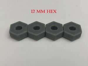 Maverick ION  1/18 scale adapters Fits To 1/10 Scale Wheels , Carbon Fiber PETG