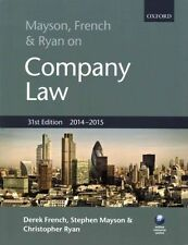 Mayson, French & Ryan on Company Law by Stephen Mayson, Christopher Ryan, Derek
