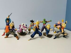 Dragon Ball Z DBZ Action Pose Figure Línea 2 y 3 ¡FULL SET! Banpresto Japan...