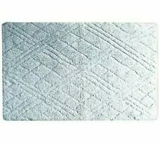 """Butterfly Home Fashions Cotton 21"""" X 34"""" Bath Rug Mist T4101163"""