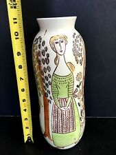 Vintage Rorstrand Carl Harry Stalhane Tall Vase > EXCELLENT CONDITION <<