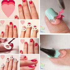 10X/480pcs French Manicure Uv Gel Polish Tip Guide Strip Nail Art Tool Hot