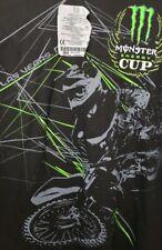 Monster Energy Cup Las Vegas NV Motocross Black Tshirt Size 2XL B3