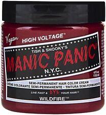 Manic Panic Semi-Permanent Hair Color Cream, Wildfire 4 oz