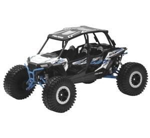 Polaris RZR Turbo XP Rock Crawler 1:18 SXS New Ray Toy Model White 57976A
