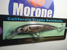 Morone Swimbaits Mini Little Giz Herring Shad Baitfish swimbait striper bass