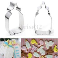 Baby Milk Pot Bottle Stainless Steel Cake Biscuit Cookie Cutter Baking Mold Tool