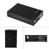 USB 3.0 SATA 3.5 Inch Hard Drive External Enclosure HDD HD Mobile Disk Case Box