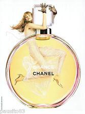 PUBLICITE ADVERTISING 115  2004  CHANEL parfum CHANCE