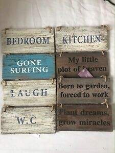 Distressed wood signs see selection and discount for bulk orders