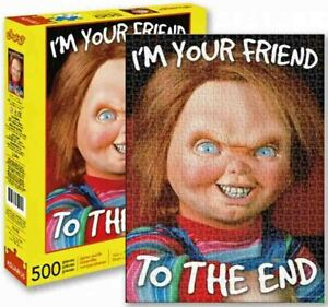 500 piece Puzzle Horror Movie 'CHUCKY - CHILDS PLAY'  Licensed by AQUARIUS