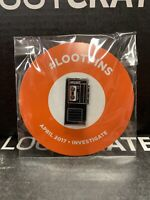 Loot Crate Pin Investigate Cassette Tape Recorder April 2017 #Lootpins NEW