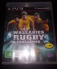 PS3 WALLABIES RUGBY CHALLENGE complete sony PLAYSTATION 3 GAME ps3 free post pal