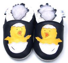 Soft Sole Leather Baby Shoes Toddler Kid Child Prewalk Infant ChickenNavy 6-12M