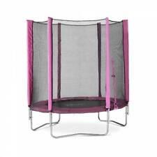 Plum 6ft Round Trampoline Pink Junior Safety Net