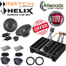 Match Amp & harness PP62DSP+Harness+Helix F 62C Component Upgrade Fiat Ducato