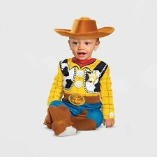 Disguise Baby/Toddler 12-18 Month Toy Story 4 Woody Cowboy Halloween Costume/Hat