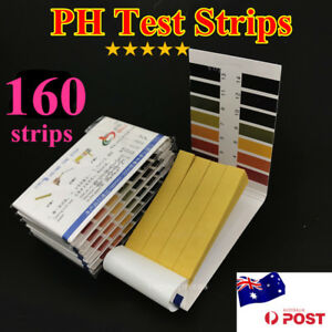 New 160 PH Test Strips Litmus Paper Urine Saliva Acid Alkaline water food pool