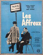Plaquette LES AFFREUX Marc Allégret DARRY COWL Pierre Fresnay