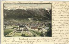 AK Innsbruck vom Berg Isel, 1903