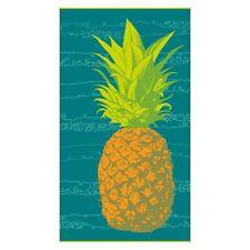 Pineapple Extra Large 100% Cotton Plush & Soft Beach & Pool Towel 100 x 180cm
