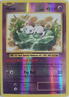 Mew 53/108 Reverse Holo - XY Evolutions 2016 -Englisch NM/Mint