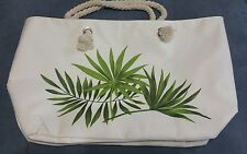 BEAUTIFUL GREEN PLANT LARGE  WATER PROOF TOTE BAG
