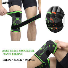 2PC Knee Support Brace Professional Protective Sport Knee Pad Breathable Bandage