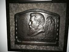 Theodore Herzl Bronze Boris Schatz Bezalel Palestine Jerusalem Antiques Judaica